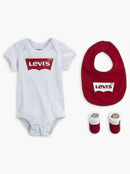 Baby Levi's® Logo Bodysuit Gift Set