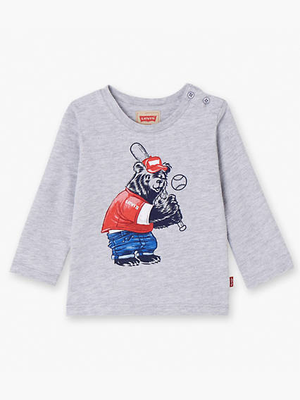 long Sleeve Tee Teddy