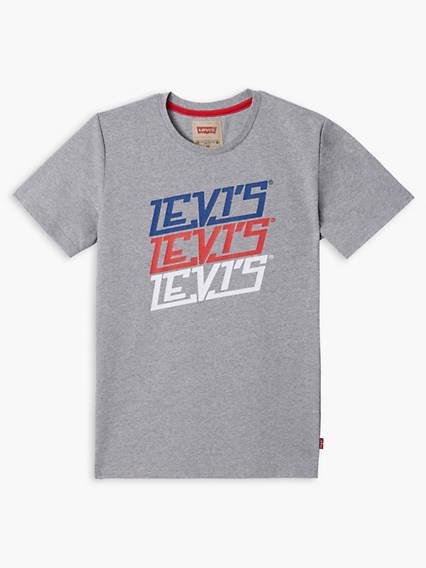 Boys Short Sleeve Tee L3Vis
