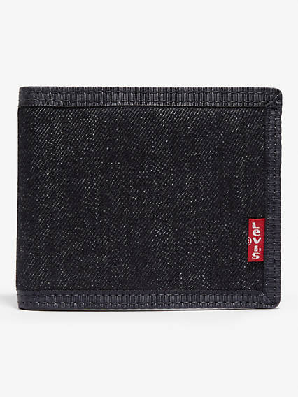 Denim basic wallet