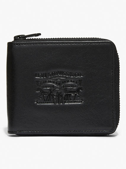 Denim & Leather Bifold Wallet