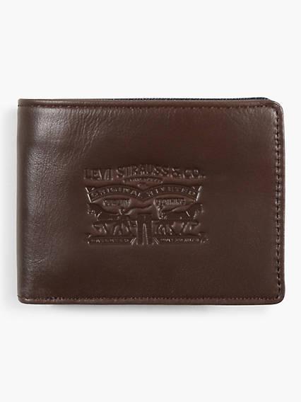 Denim & Leather Bifold Wallet
