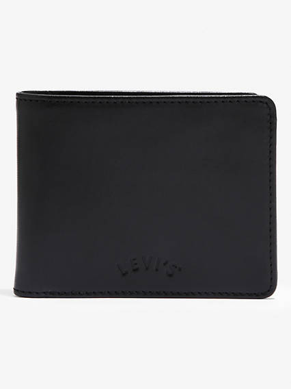 Arch Logo Bifold W Coin Wallet