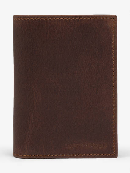 Oiled Batwing Bifold With Coin Wallet