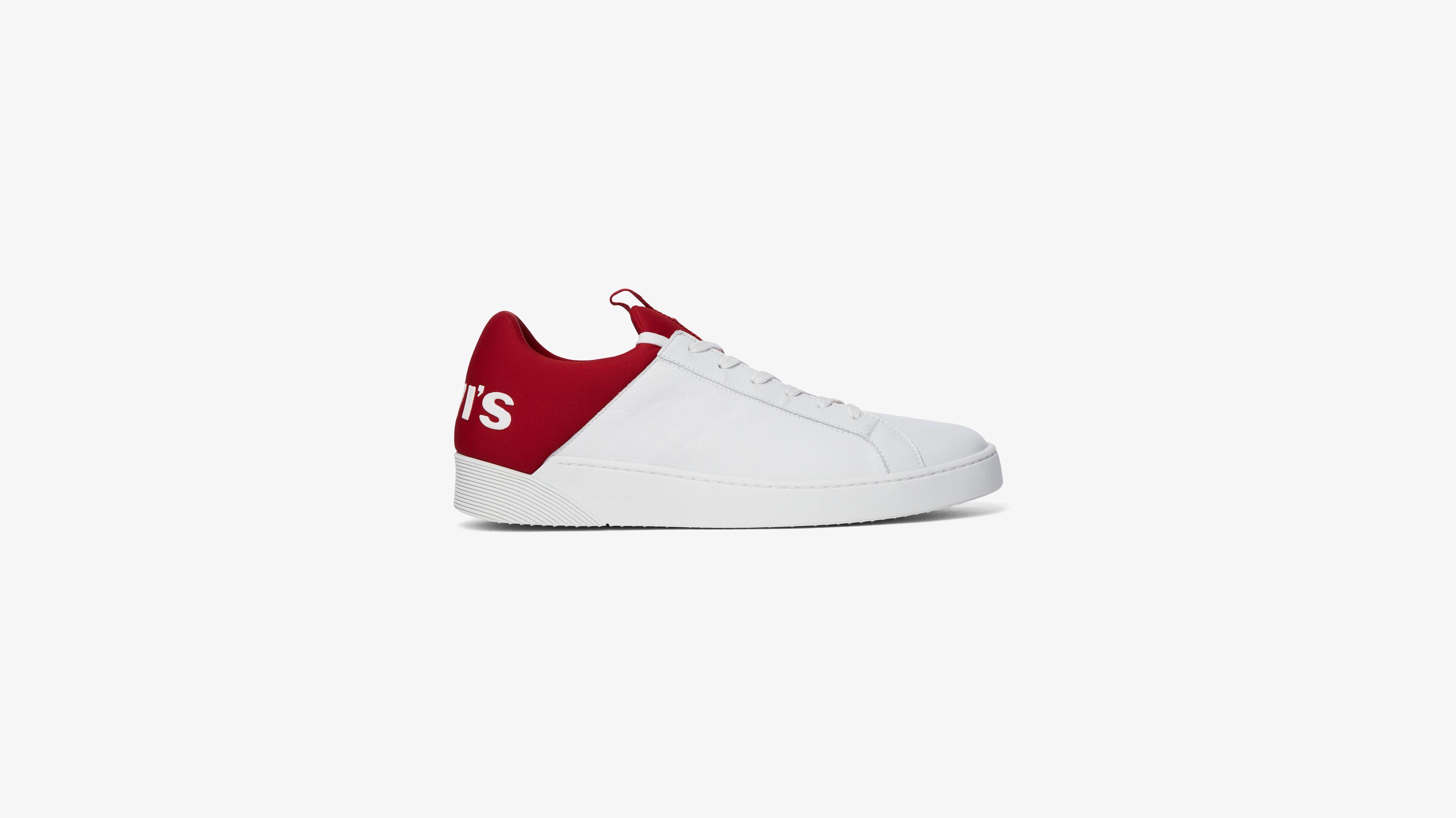 Mullet Sneakers Rot Regular Red