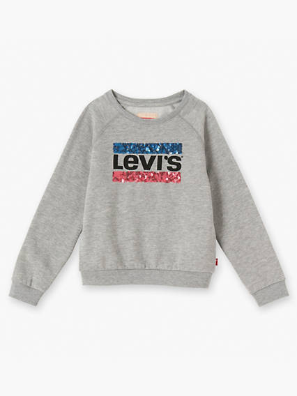 Girls Brush Sweatshirt