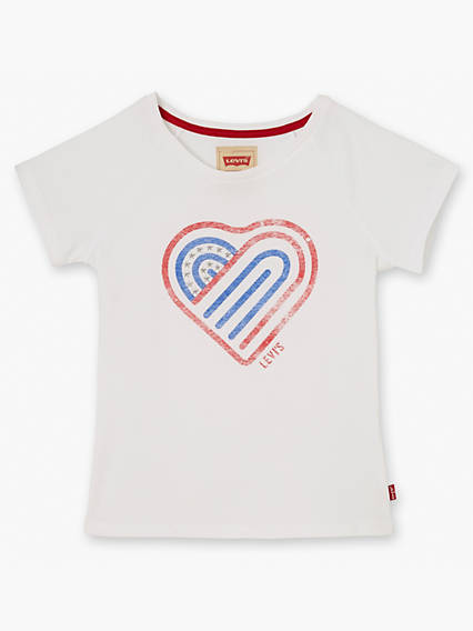 Girls Short Sleeve Tee