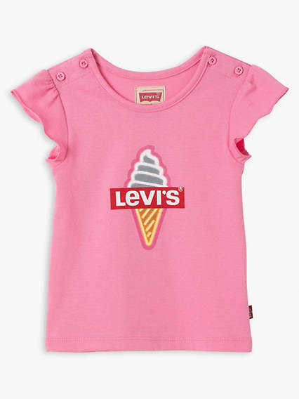 Baby Girls Short Sleeve Tee Flow