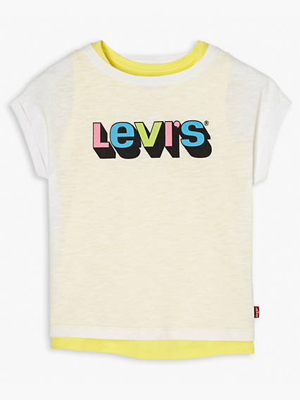 Girls Short Sleeve Tee Marielle