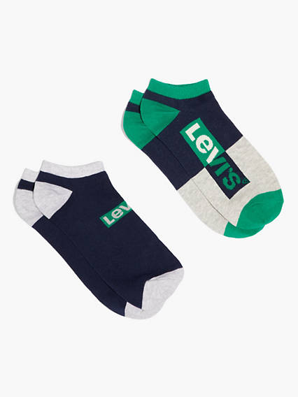 Levi's® Low Cut Socks (2 Pack)