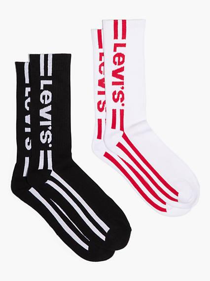 Levi's® Vintage Cut Socks (2 Pack)
