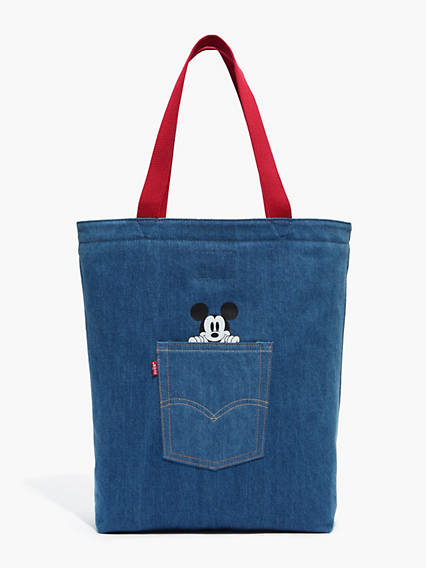 Levi's® X Mickey Mouse The Levi's® Back Pocket Tote Mickey Bag