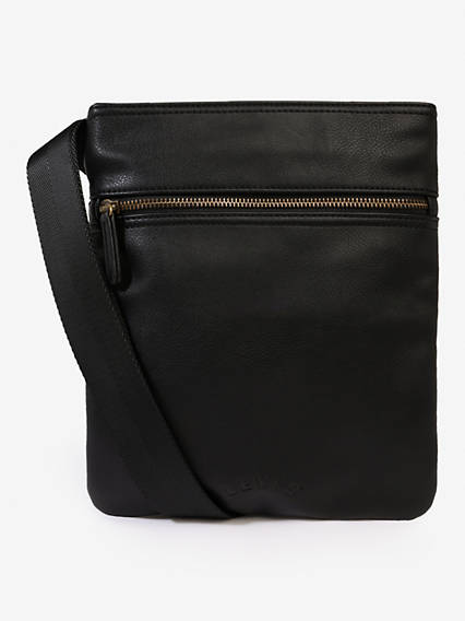 Flat Crossbody Vegan Bag