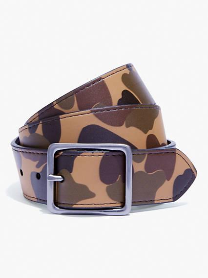 Camo Reversible Belt