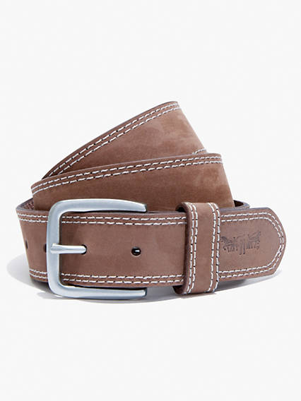 Contrast Stitch Belt