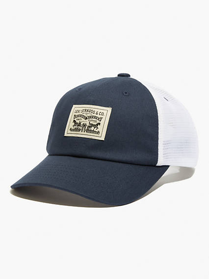 Levi's Two-Horse Pull Baseball Cap - Men's 1 This classic cap displays our iconic Two Horse Pull logo, which represents the strength and quality of Levi's® clothing.