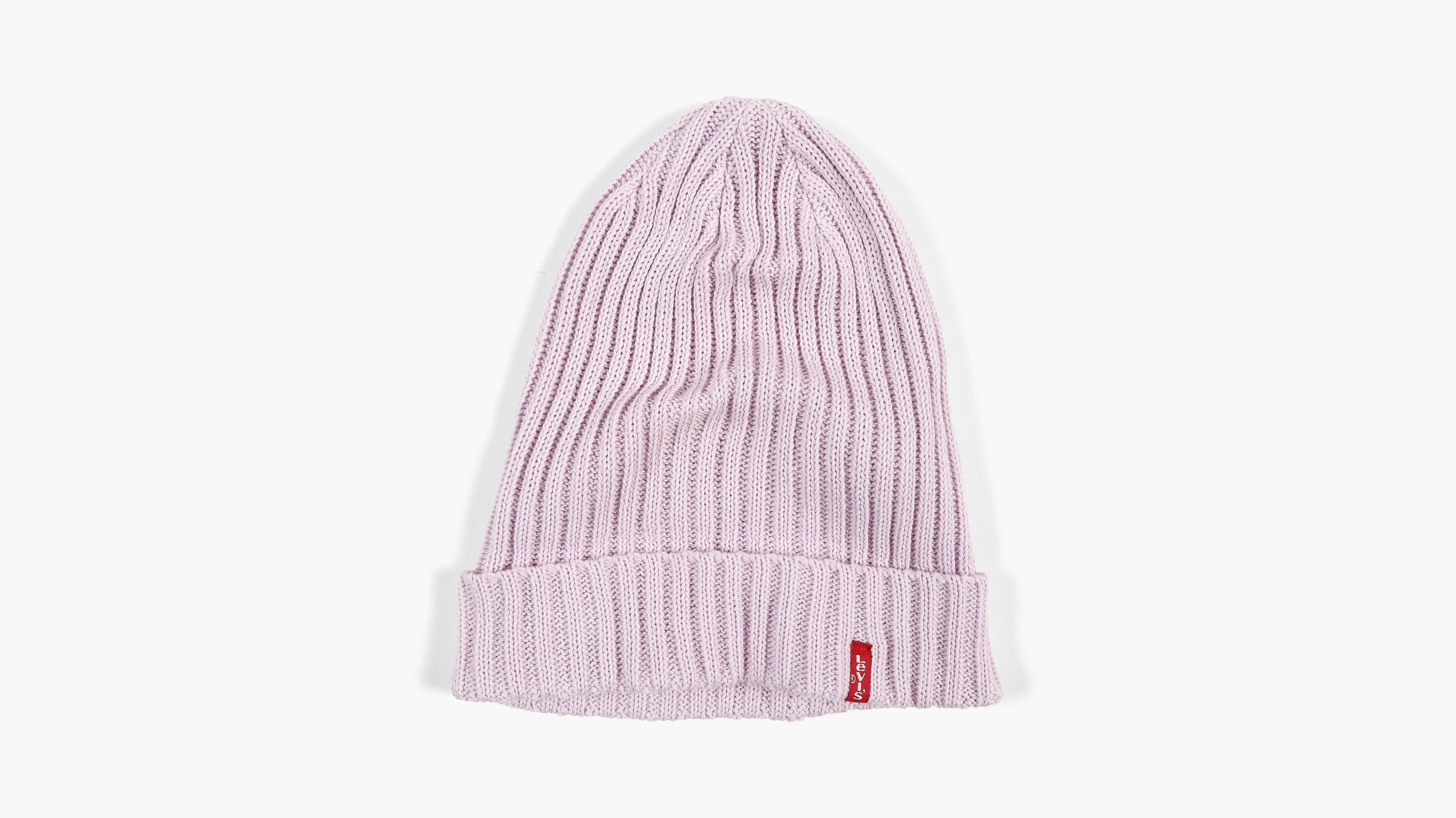 Ribbed Beanie - Light yellow Levi's