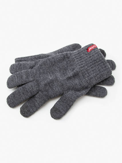 Red Tab Touch Screen Gloves