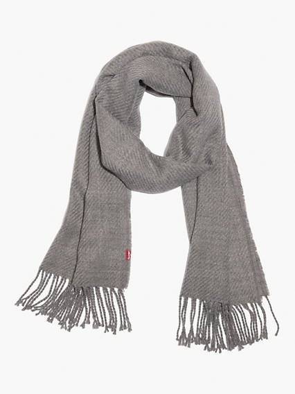 Solid Twill Oblong Scarf