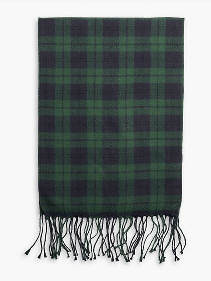 Nightwatch Plaid Oblong Scarf