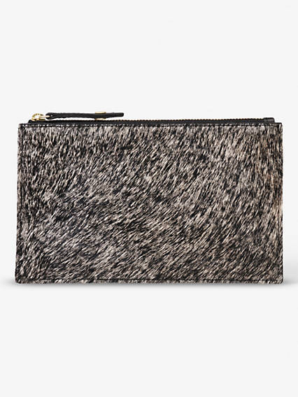Calf Hair Mini Wallet