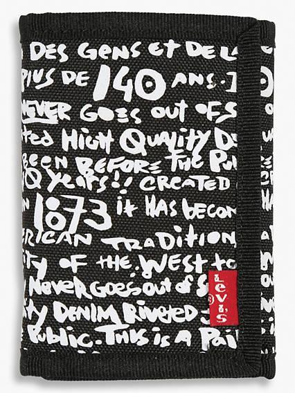 Levi's® Graffiti Print Wallet