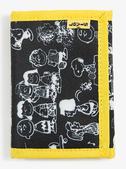 Levi's® X Peanuts Levi's Basics Bowers Trifold Wallet