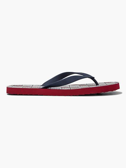 Dixon Allover Flip Flops