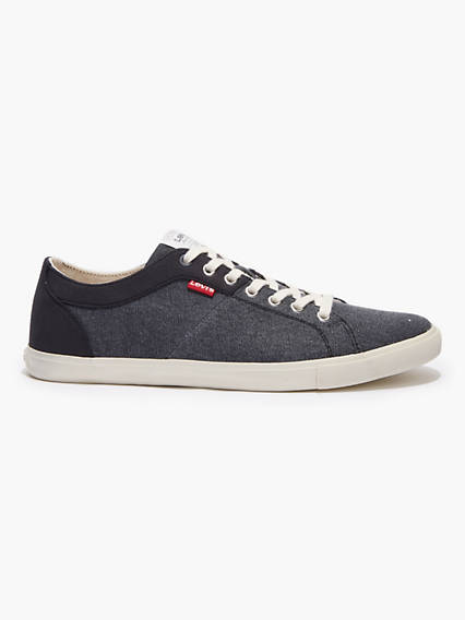 Levi's Woods Canvas Sneakers - Men's 43 These sneakers have street-ready style, and are constructed for comfort. Woods Canvas Sneakers - Men's 43 - Black. Levi's Official Site.