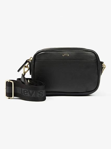 Leather Camera Sport Bag