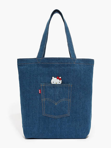 Fourre-tout en denim Levi'sMD x Hello Kitty