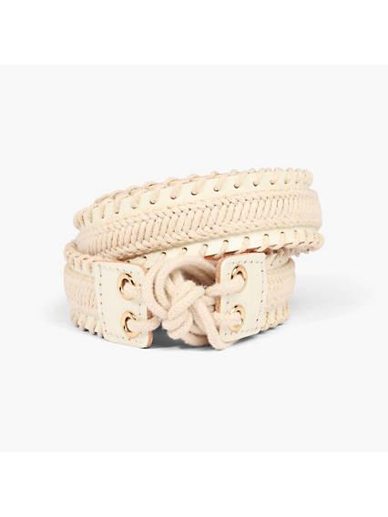 Pretty White Belt