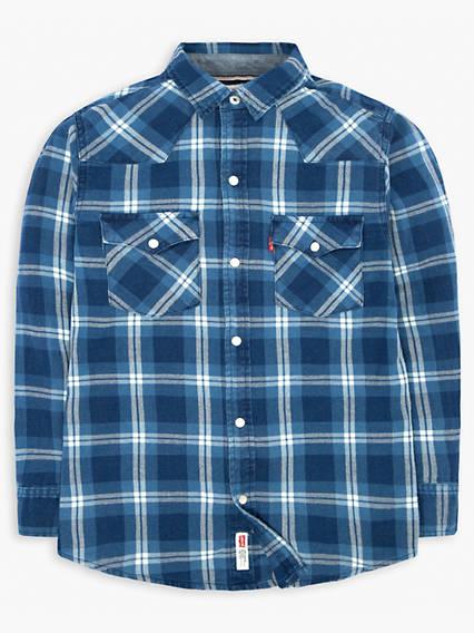 Boys 8-20 Barstow Western Shirt