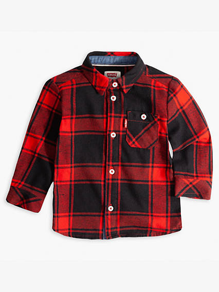 Baby 12-24M Long Sleeve Woven Shirt