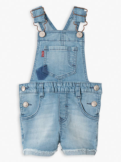Baby Girls Short Overall