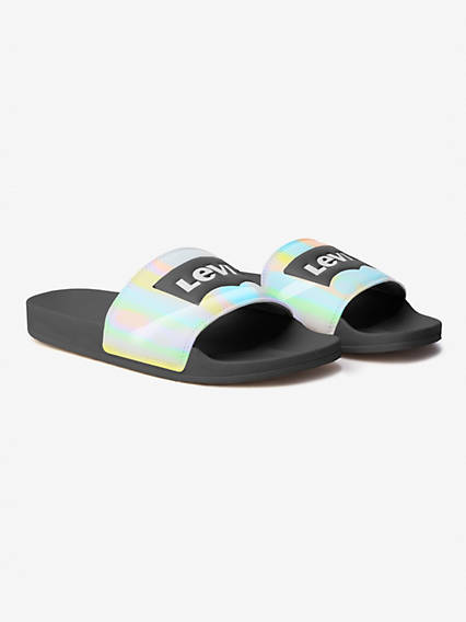 June Batwing Slide Sandal