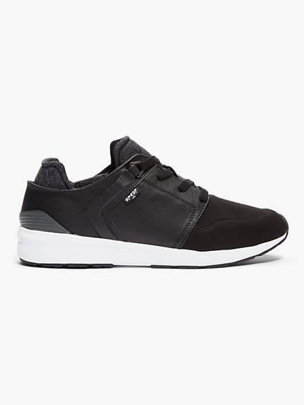 Black Tab Runner Sneaker
