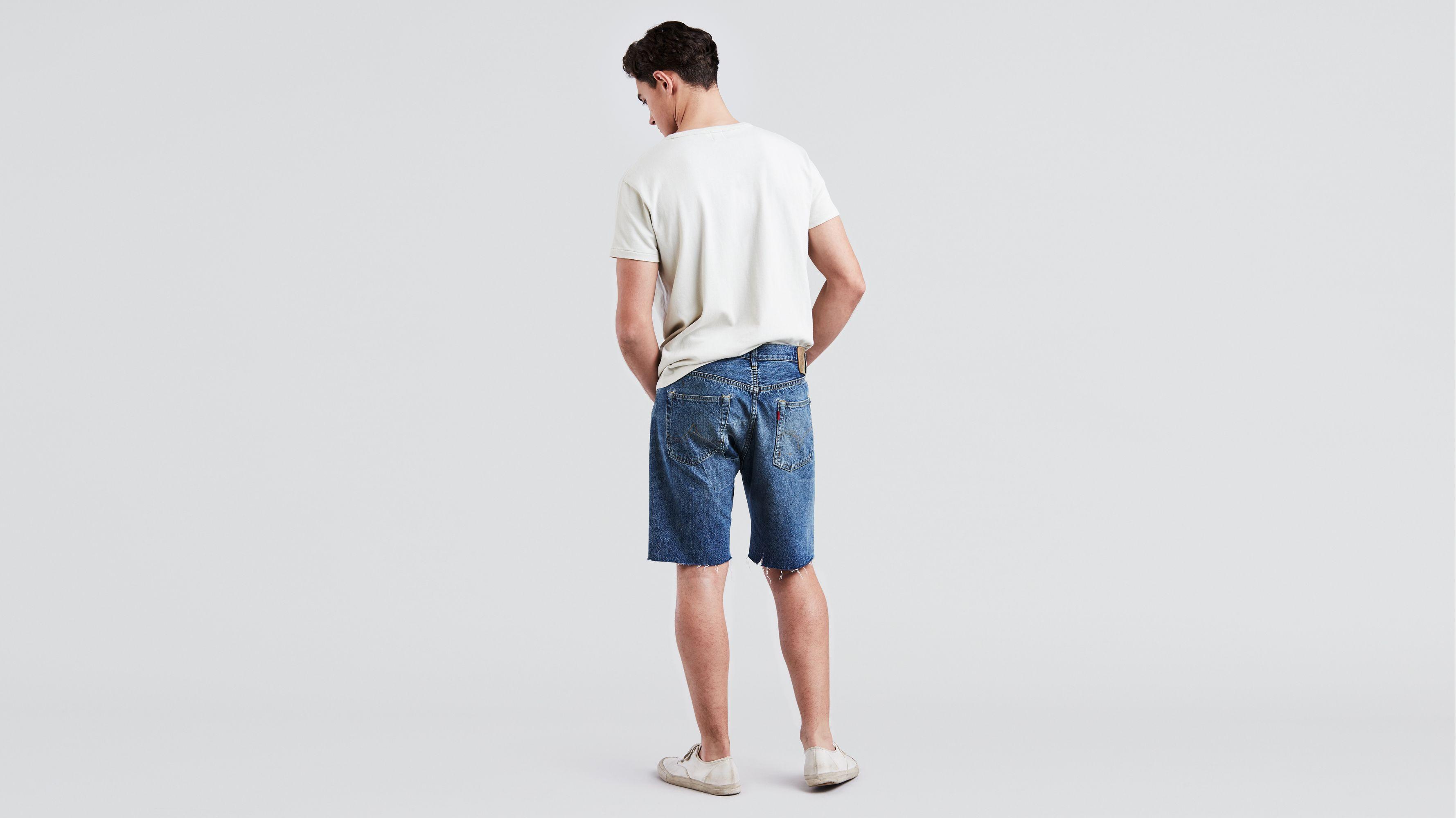 08d6bdcd54 1944 501® Cut Off Shorts - Medium Wash   Levi's® US