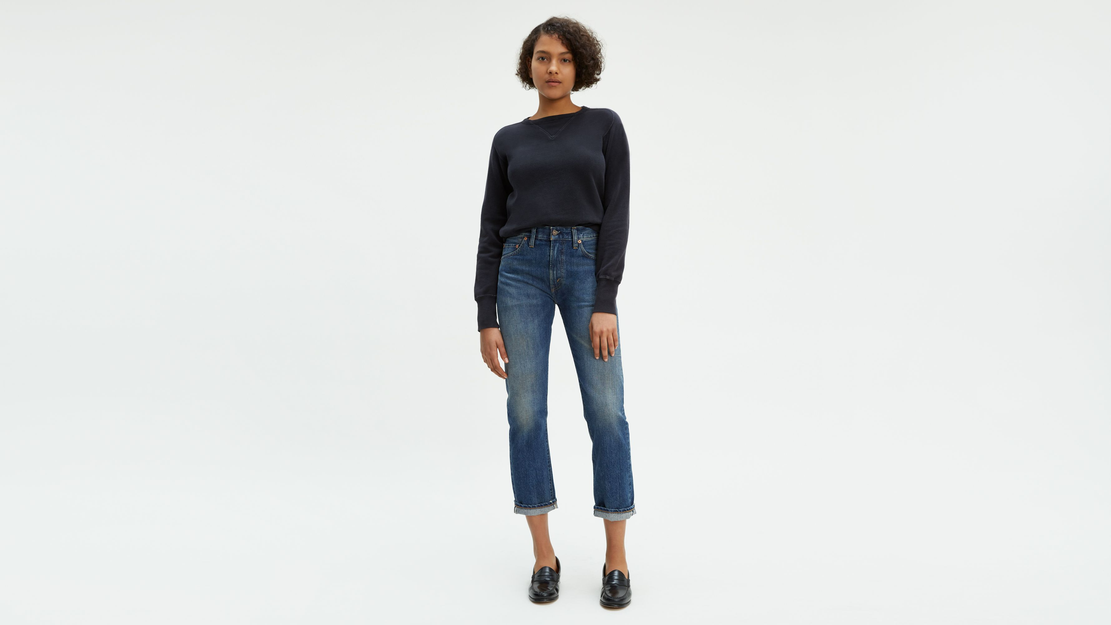 2435d01e456 Levi's® Vintage Clothing 1967 505™ Jeans - Medium Blue   Levi's® GB