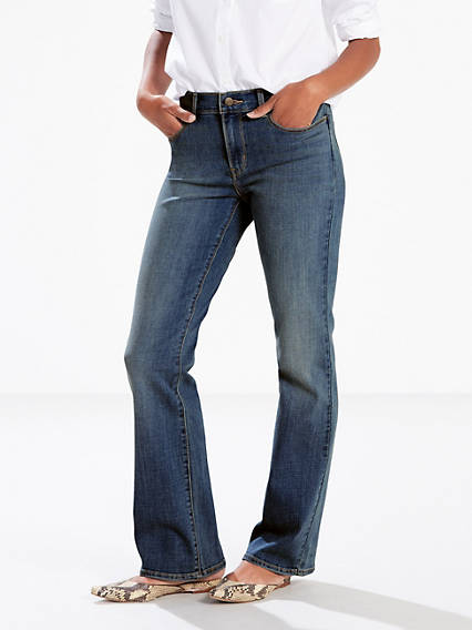 7586696a257 Women s Mid Rise Bootcut Jeans
