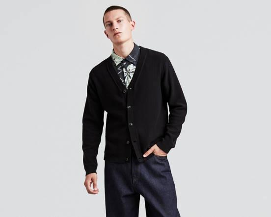 4cca63d2a Cardigan Sweater - Black