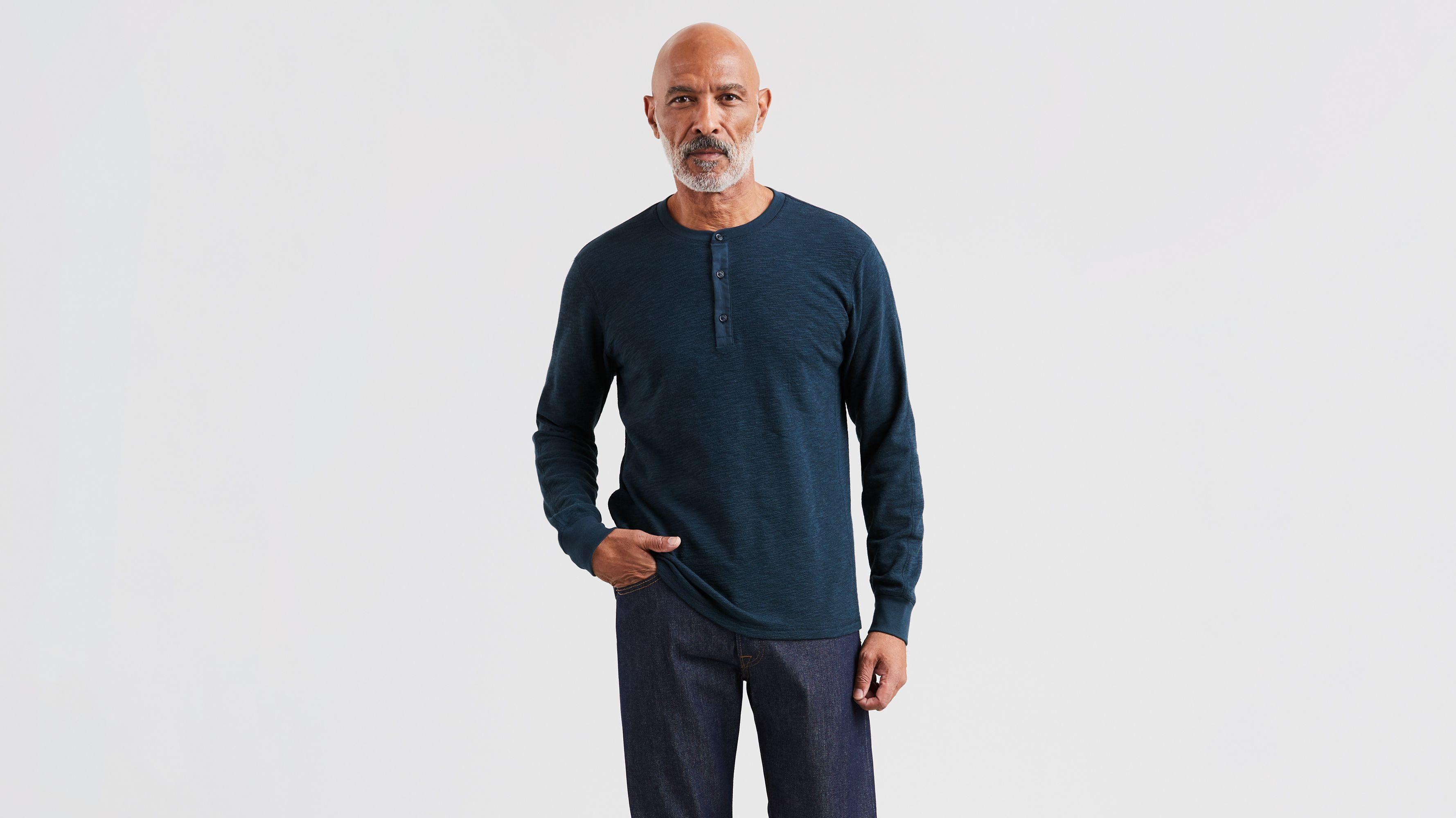 df31833cfda Henley Shirt - Blue | Levi's® US