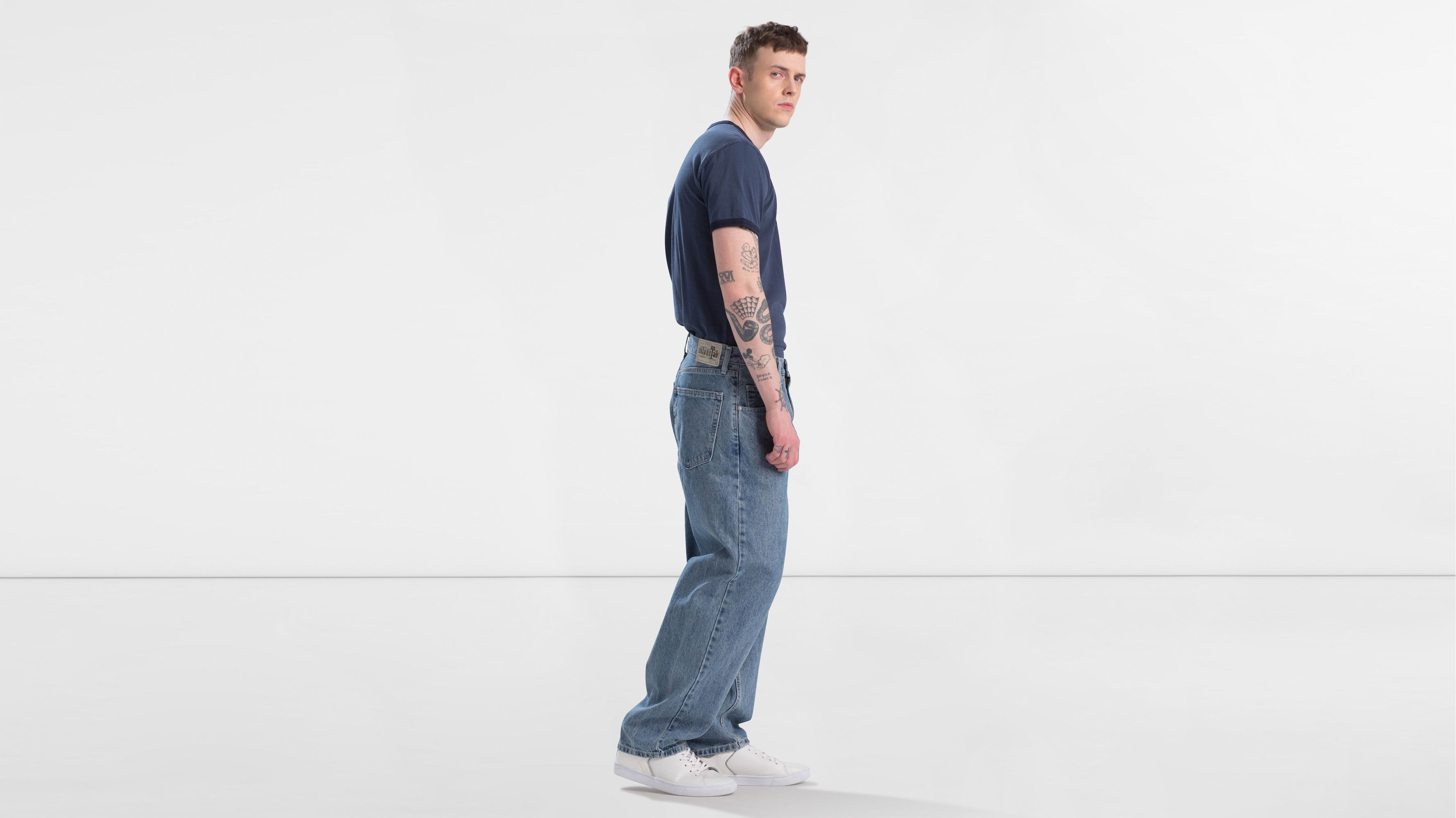 Intermédiaire Teinte Fr Baggy Silvertab Jeans Levi's® Iwqz7x