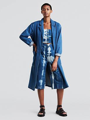 Veste en jean femme avec strass