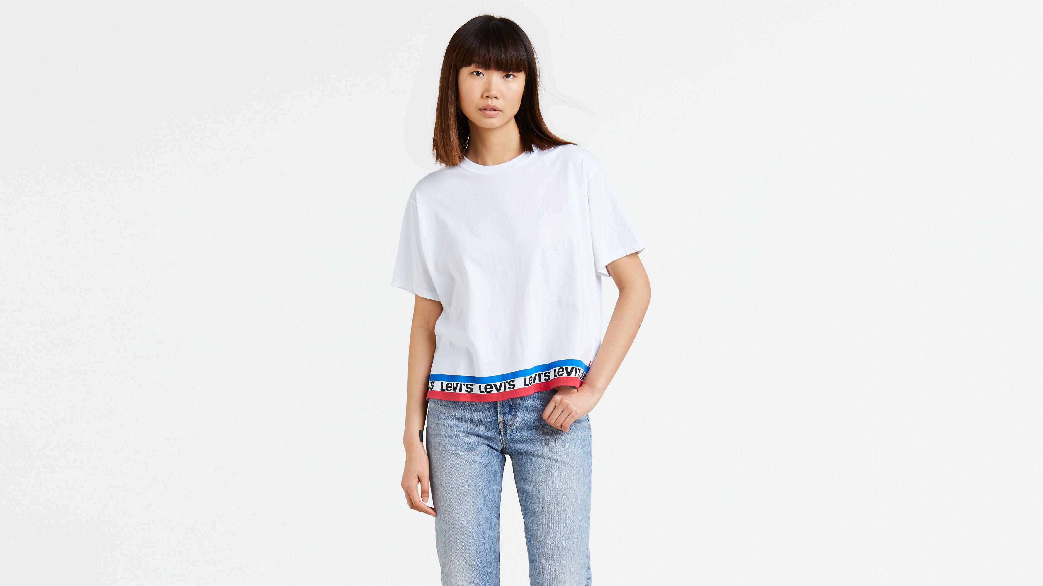 8af4f830c Graphic J.v. Tee Shirt - White | Levi's® US