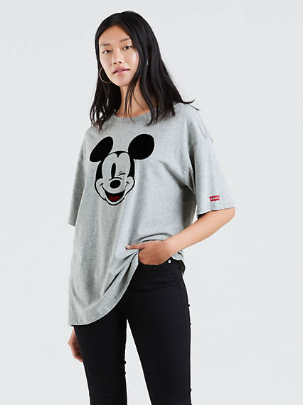 Levi's® x Disney Mickey Mouse Graphic Slacker Tee Shirt
