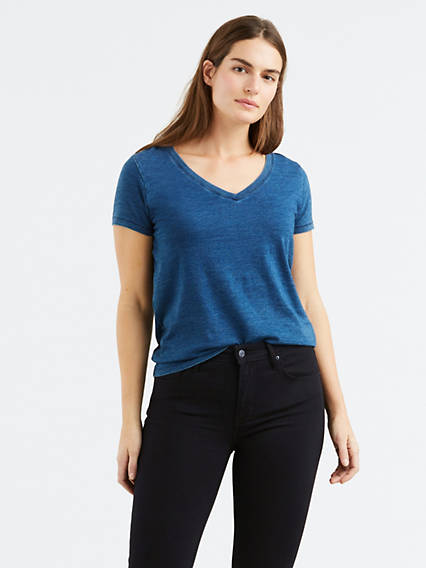 Perfect V-Neck Tee Shirt