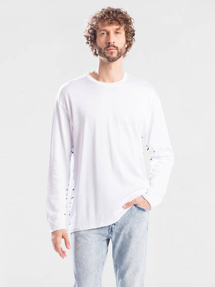 Line 8 Long Line Long Sleeve Tee