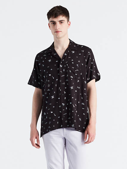 Line 8 Unisex Short Sleeve One Pocket Shirt