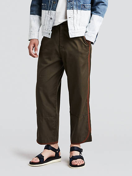 Peskowitz Wide Crop Trousers